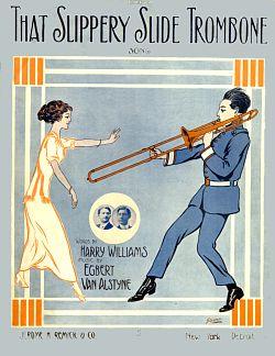 slippery slide trombone