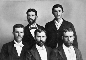 Edward Wilhelm Goeth, a rancher; Conrad A. Goeth, a lawyer; Adolph Carl Goeth, a merchant; Max A. Goeth, a rancher; and Richard A. Goeth, a doctor