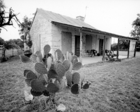 "Photograph of the old rock house on the Voelcker Farm taken by Dudley Harris for ""Last Farm Standing on Buttermilk Hill"""
