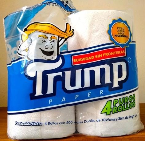 trump toilet paper
