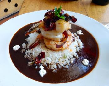 La Biznaga shrimp