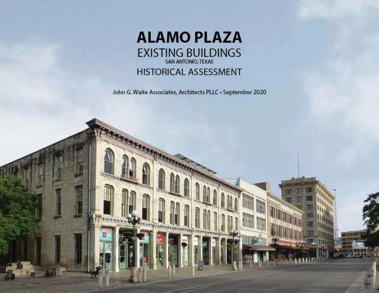 alamo plaza buildings historical assessment