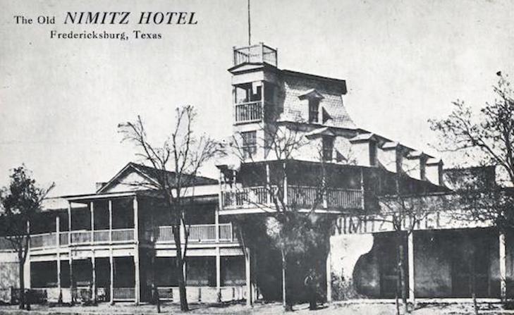 nimitz hotel in fredericksburg, texas